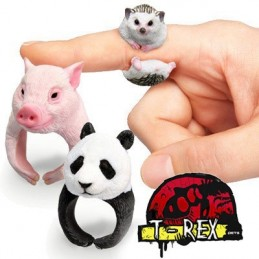 Anel Animal Exótico 3d