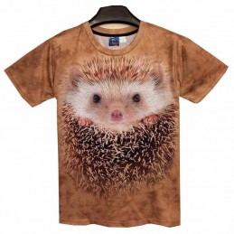 Camiseta Hedgehog 3d