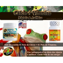 Kit Vitamina e Cálcio
