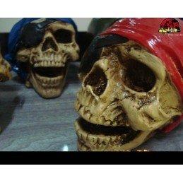 Crânio Caveira Pirata