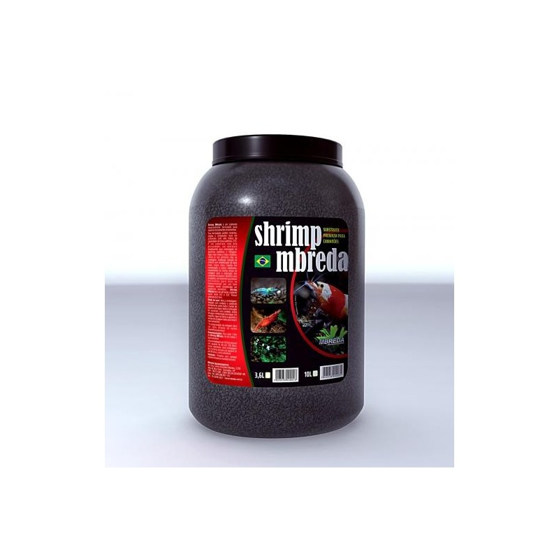 Substrato Shrimp Mbreda 3,6l