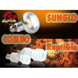 Combo Reptiglo 5.0 UVB + Sunglo UVA (Radiação e Aquecimento)
